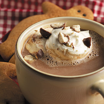 Malted Hot Cocoa