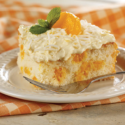 Mandarin Orange Cake Recipe | MyRecipes.com