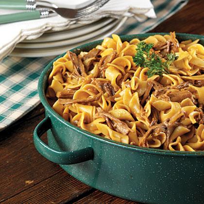 Oven Beef & Noodles
