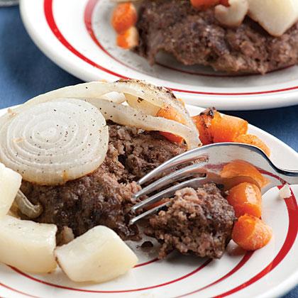Poor Man's Steak and Vegetables Recipe