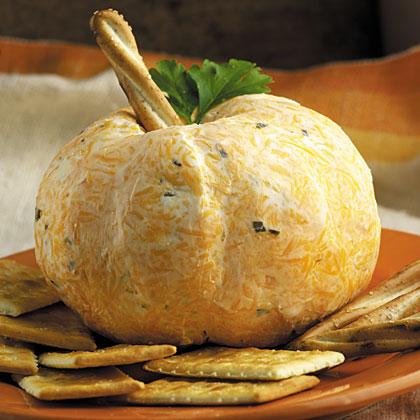 Pumpkin Patch Cheese BallRecipe