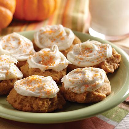 Pumpkin Patch CookiesRecipe