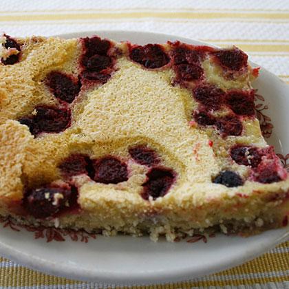 Raspberry Kuchen Bars Recipe
