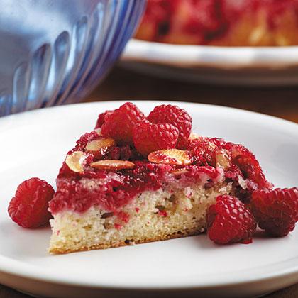 Raspberry Upside-Down CakeRecipe
