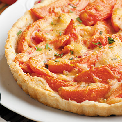 Ripe Tomato Tart Recipe