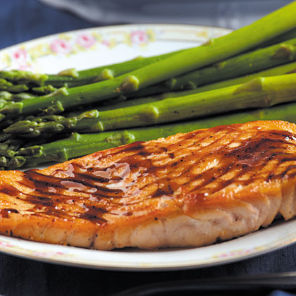 Salmon with Balsamic Sauce Recipe