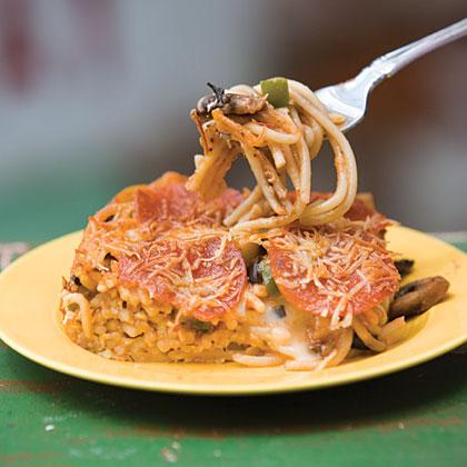 Stacie's Spaghetti Pie