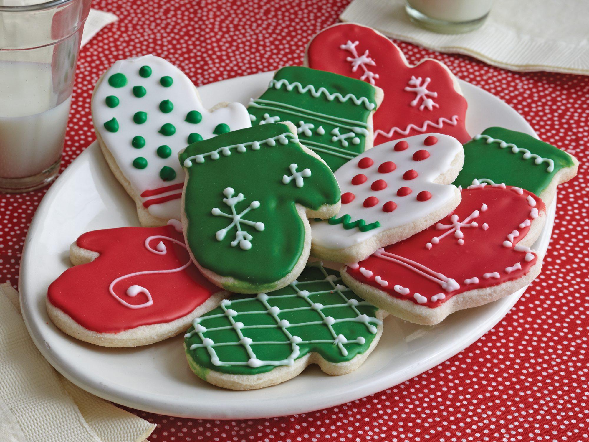 Sugar Cookie Mittens Recipe Myrecipes