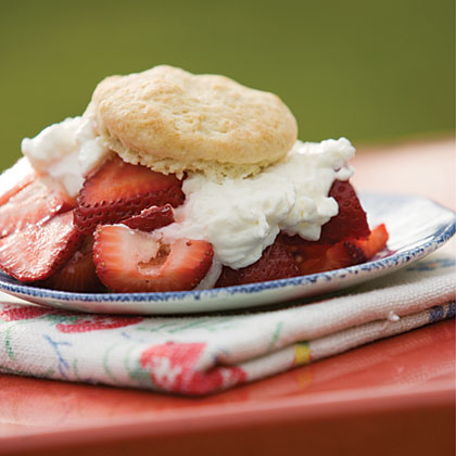 Summertime Strawberry Shortcake