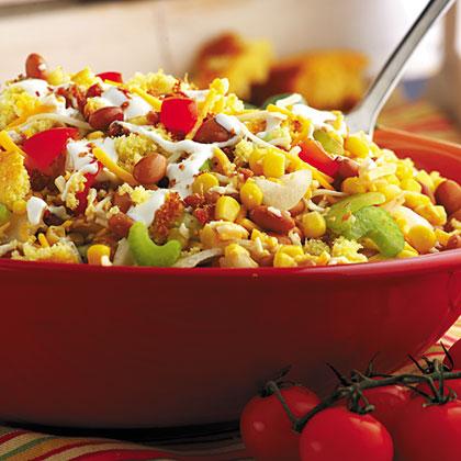 Thumbs-Up Cornbread Salad