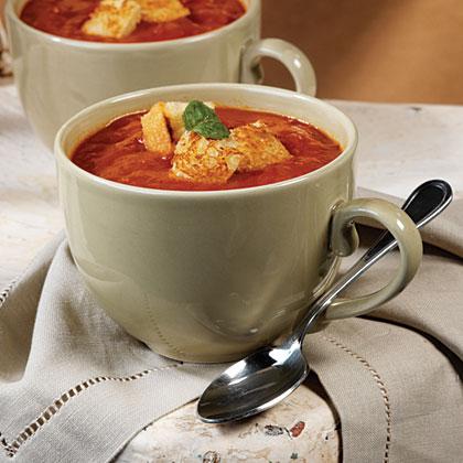 Tomato-Tortellini Soup Recipe