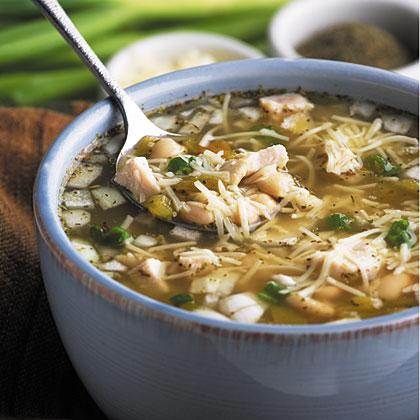 White Bean Chicken Chili Recipe - 1 | MyRecipes