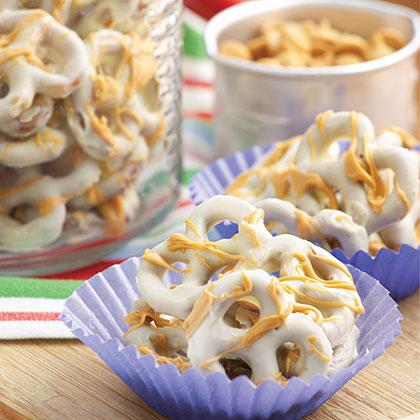 White Chocolate-Butterscotch Pretzels