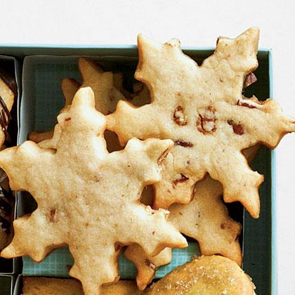 Bourbon-Pecan Snowflakes Recipe