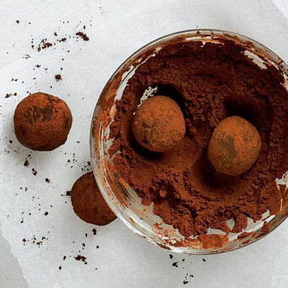 Chocolate-Espresso Pound Cake Truffles