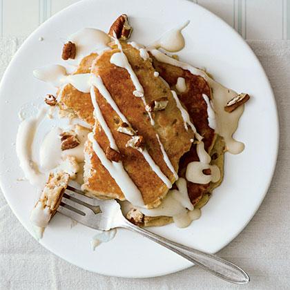 Italian Cream Pancakes
