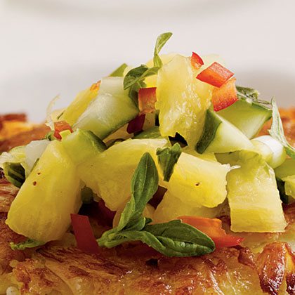 Pineapple-Cucumber Salsa