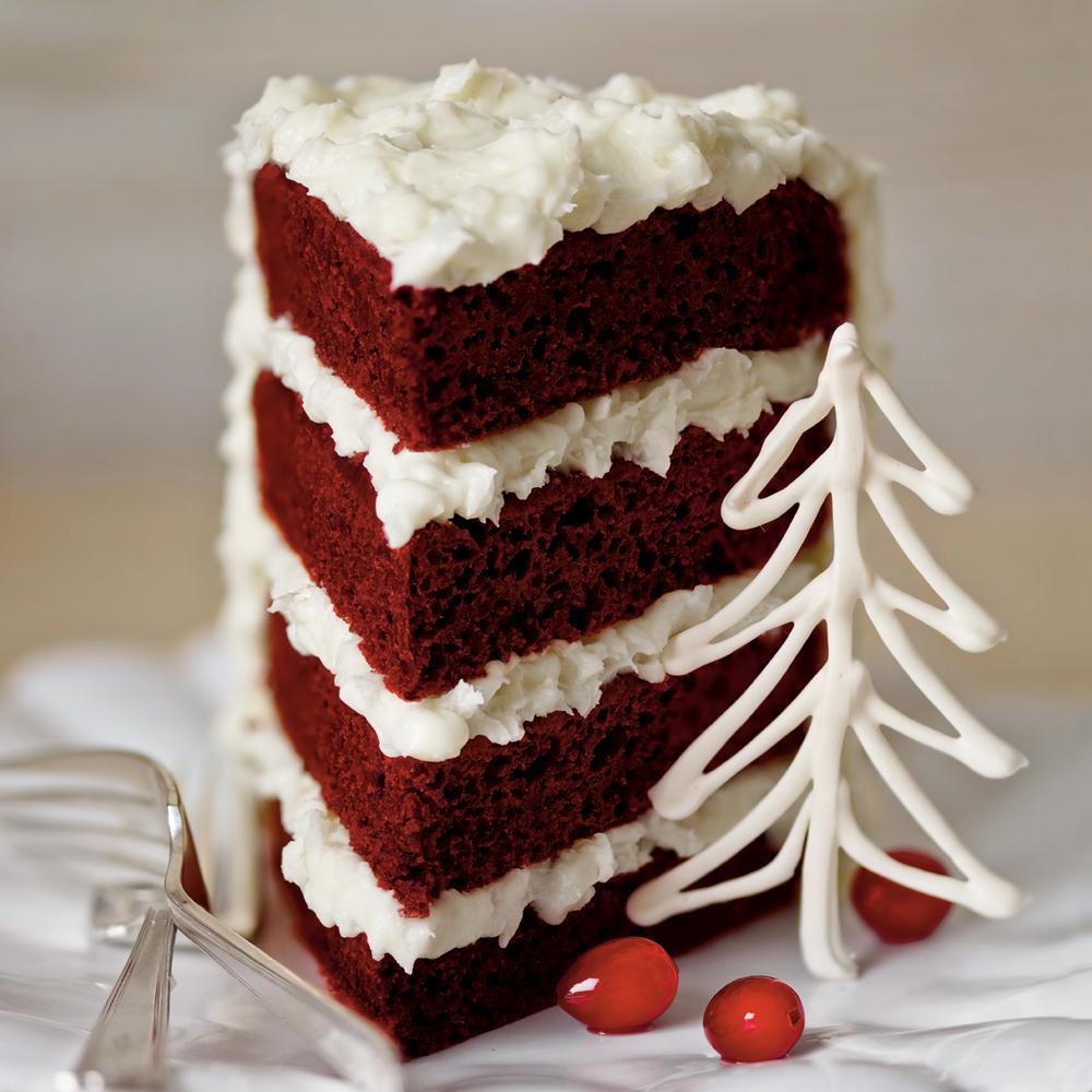 Strawberry Creamcheese Mardi Gras Cake Recipe