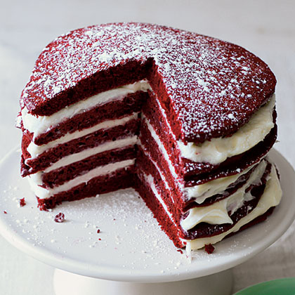 Red Velvet Pancakes                            RecipeTry this festive pancake version of the classic red velvet cake. Whether you serve these for the holidays or everyday, they're sure to satisfy any sweet tooth.