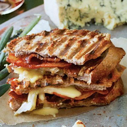 Salty-Sweet Bacon PaniniRecipe