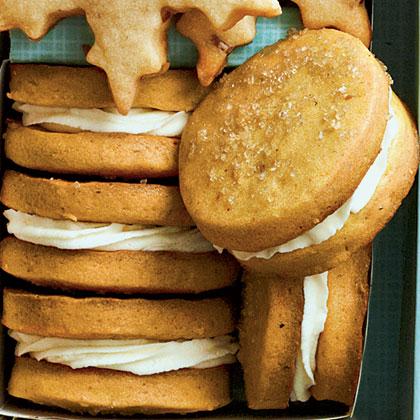 Sweet Potato-Marshmallow Sandwich Cookies