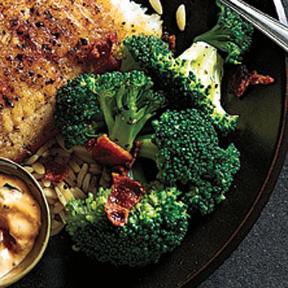 Bacon-Scented Broccoli