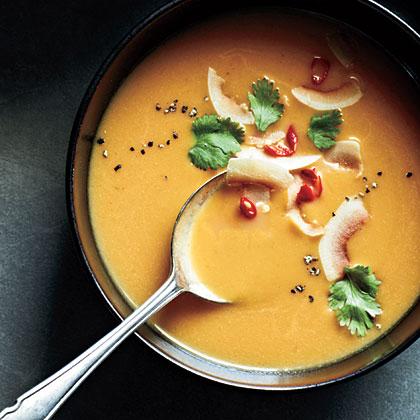 Curried Butternut Soup