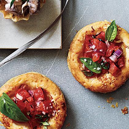 Mini Tomato-Parmesan Tarts