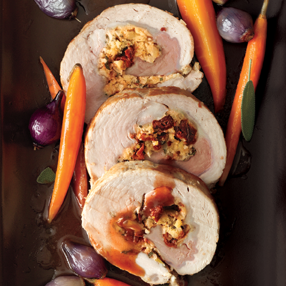 Roast pork tenderloin stuffing recipe