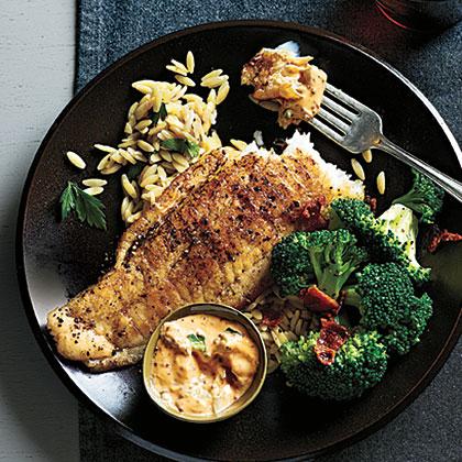 Sautéed Flounder and Spicy Rémoulade Recipe