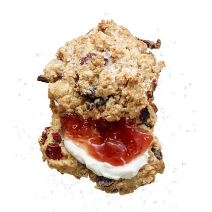 <p>Cherry Oat Scones</p>