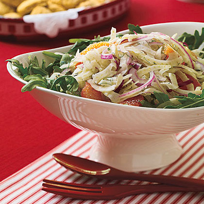 Fennel and Red Grapefruit Salad