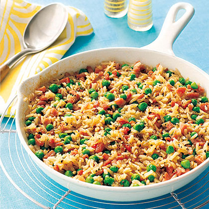 Ham and Brown Rice Casserole