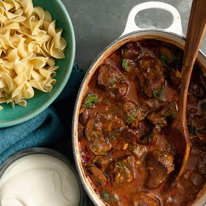 <p>Hungarian Goulash</p>