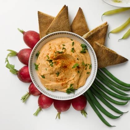 <p>Red Lentil Hummus</p>