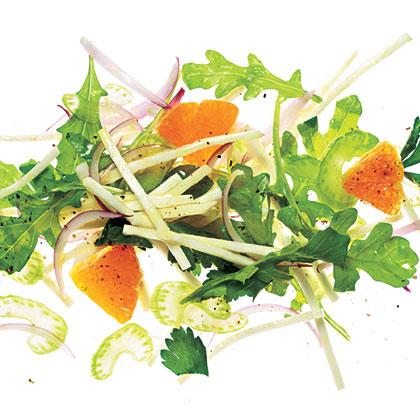 Celery Root-Arugula Salad