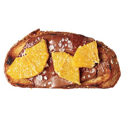 Curiously Citrus Chocolate Toast