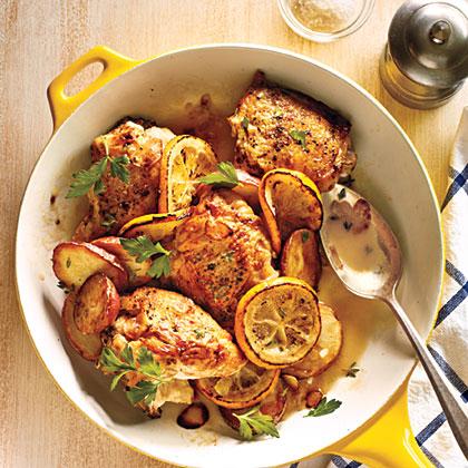 Meyer Lemon Chicken Recipe