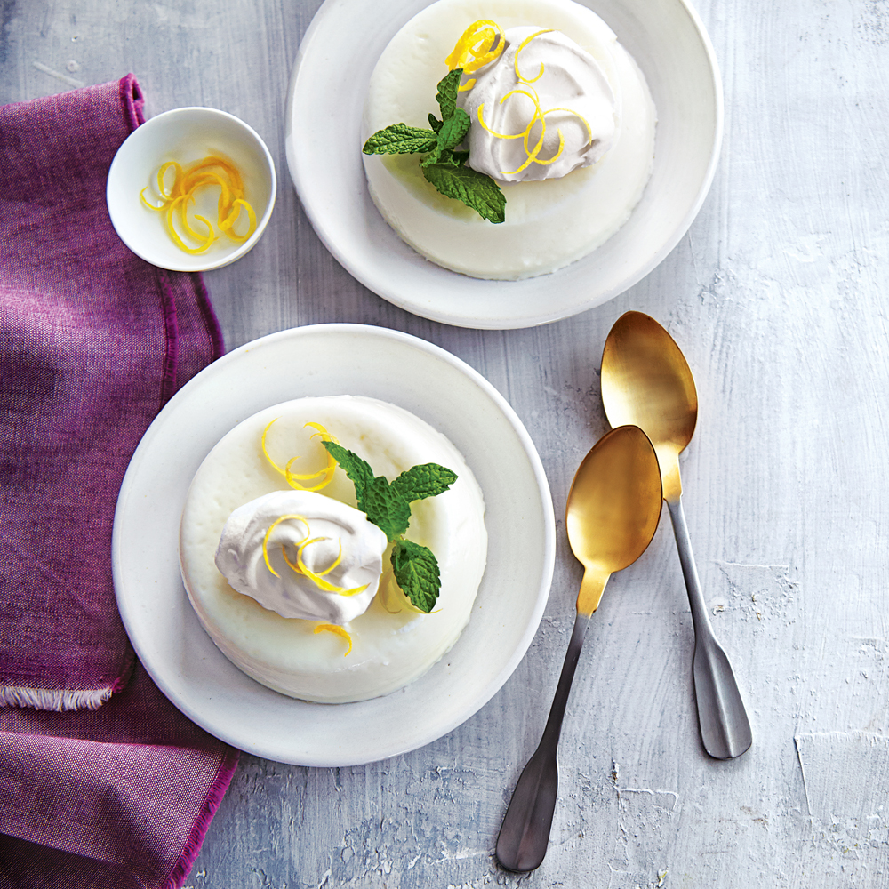 Meyer Lemon Panna Cotta