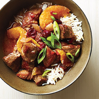 Orange-Cranberry Pork Stew Recipe