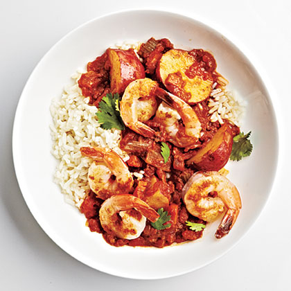 Shrimp Vindaloo