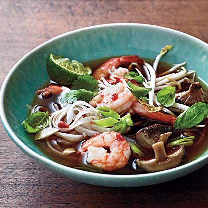 Spicy Shrimp Noodle Soup