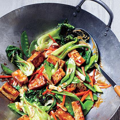 Veggie and Tofu Stir-FryRecipe