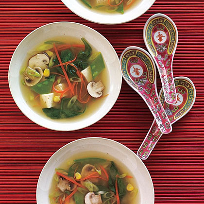 Miso-Vegetable Soup