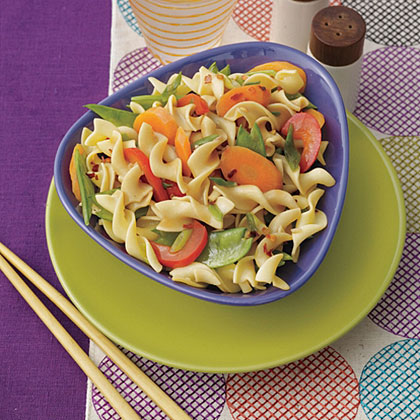 Stir-Fried Egg Noodles with Vegetables Recipe