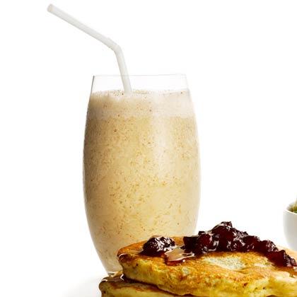 Spiced Banana-Almond Smoothie