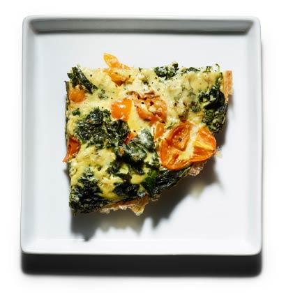 <p>Braised Kale Frittata</p>