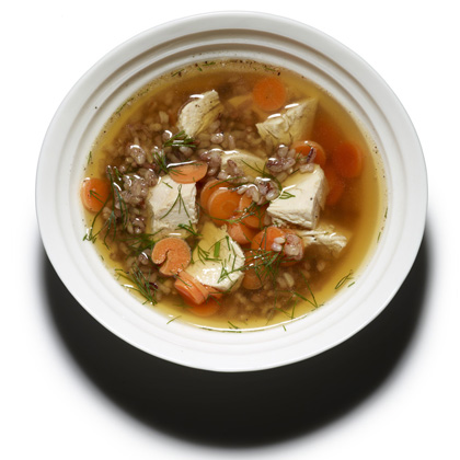 <p>Roast Chicken and Rice Soup</p>