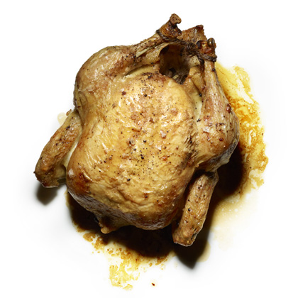<p>Roast Chicken with Pan Sauce</p>