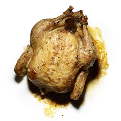 Roast Chicken with Pan Sauce